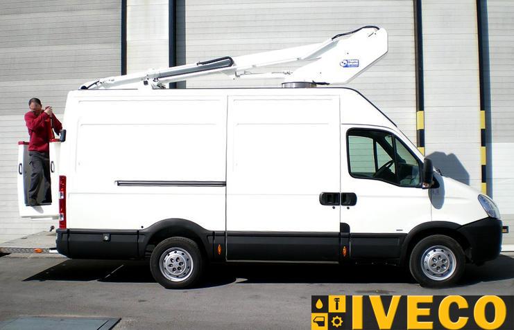 Автовышка EV130 на базе шасси IVECO New Daily 35S12VH2 2,3HPI